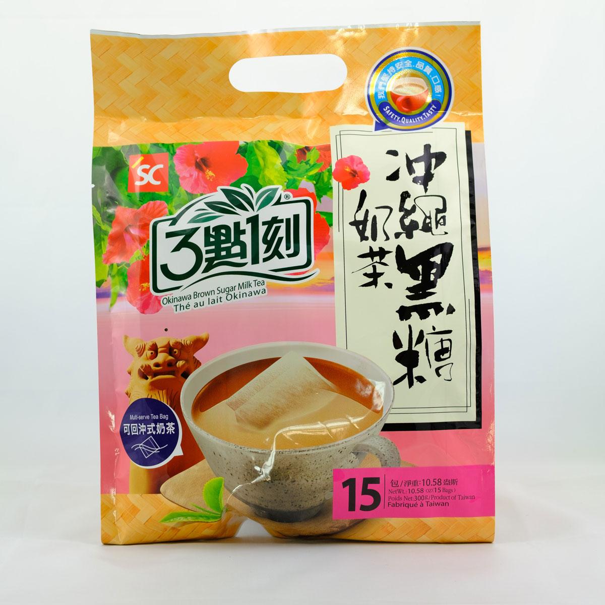 Milk Tea Okinawa Brown Sugar Flavor Bag Sunny Maid